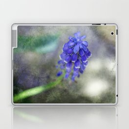 Textured Grape Hyacinth Laptop & iPad Skin