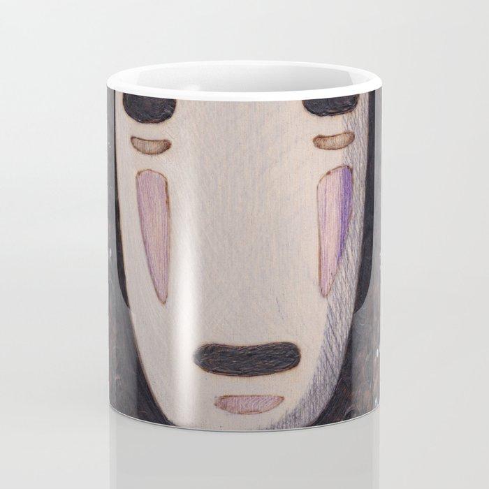 No Face - Spirited Away with Soot sprites (Susuwatari) Coffee Mug