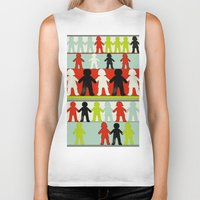 equality Biker Tanks featuring Equality by Hilka Zimmerman