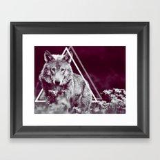 WOLF I Framed Art Print