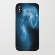 Blue Galaxy Slim Case iPhone X