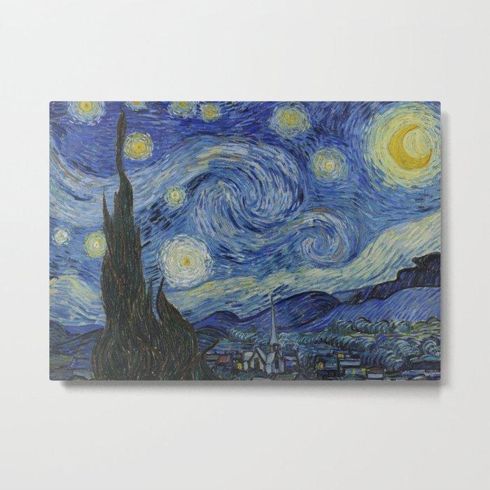 The Starry Night Metal Print