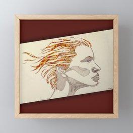 Natural Beauty Framed Mini Art Print