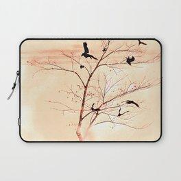 WHITEOUT/Peach Laptop Sleeve