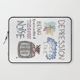 depression feels Laptop Sleeve
