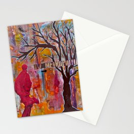 Finding My Way (The Path to Self Discovery/Actualization) Stationery Cards