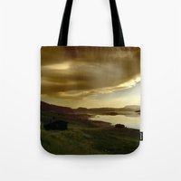 norway Tote Bags featuring Norway by Sushibird