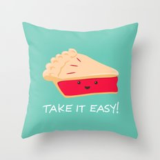 A slice of advice! Throw Pillow