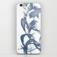 calligraphy iPhone & iPod Skins featuring Calligraphy by MargherittaVi