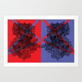 Line Abstraction I Art Print