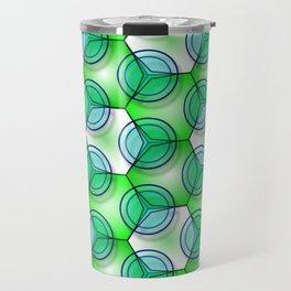 Circles & Hexagons Travel Mug
