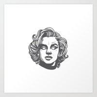 Monroe MӨПЯӨΣ Art Print