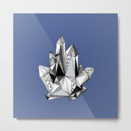 Crystal No. 3 Metal Print