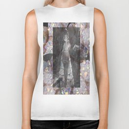 Gems and Gauze Biker Tank