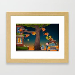Let the Adventure Begin! Framed Art Print