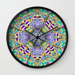 Perpetual Psychedelic Machine Wall Clock