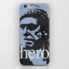 Charles Bukowski - hero. iPhone & iPod Skin