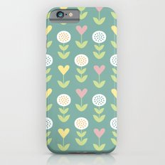 Flower pattern iPhone 6s Slim Case