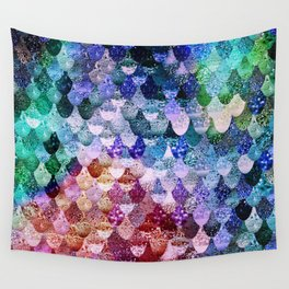 REALLY MERMAID FUNKY Wall Tapestry