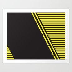 Lines: One Art Print