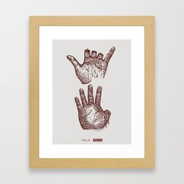 Never forget 8964 Framed Art Print