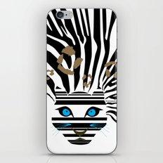 Leopard Zebra crossover iPhone & iPod Skin