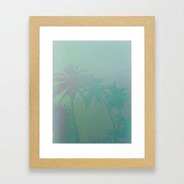 Palm Stories 3 Framed Art Print