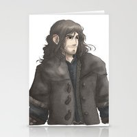 kili Stationery Cards featuring Kili  by AlyTheKitten