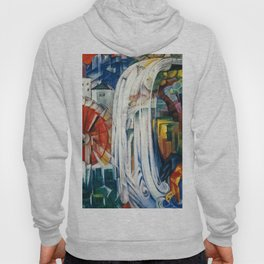 Franz Marc - The Bewitched Mill Hoody