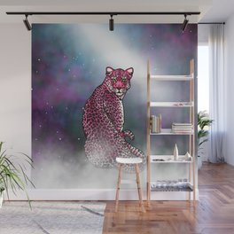 Space Leopard Wall Mural