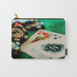 Casino Chips & Cards Carry-All Pouch