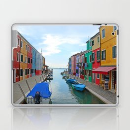 Lace Island - end of the street Laptop & iPad Skin