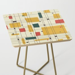 Mid-Century Modern (gold) Side Table