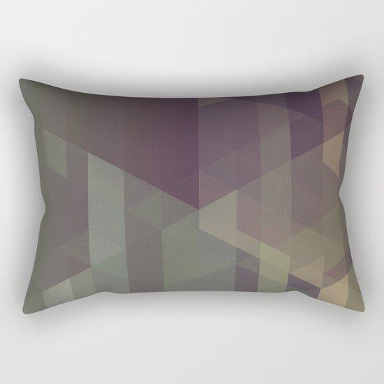 The Clearest Line III Rectangular Pillow