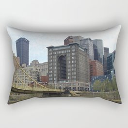 My Heart is In Pittsburgh Rectangular Pillow