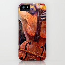 Killing Me Softly iPhone Case