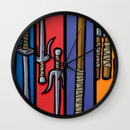 Four Humors Wall Clock