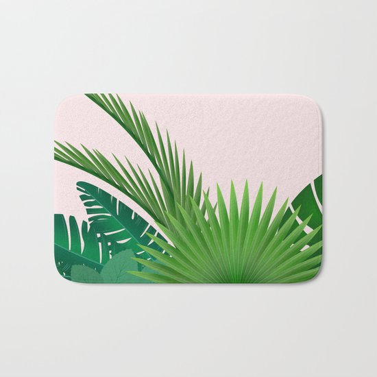 Tropical Bath Mat