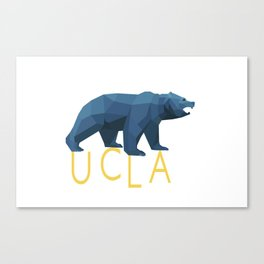 UCLA Geometric Bruin Canvas Print