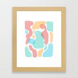 Just sweeties Framed Art Print