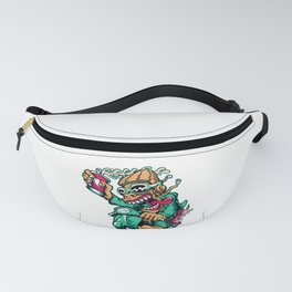 Motocycle Driver - GREEN Fanny Pack