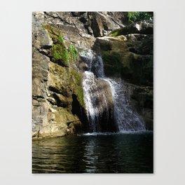 """Ultimo brinco"" waterfall @ Rincon, Puerto Rico Canvas Print"