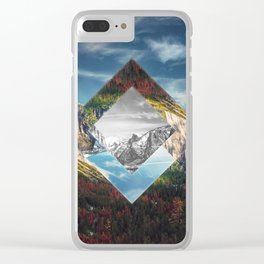Valley of Other Dimension Clear iPhone Case