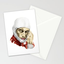 Ayrton Senna. Push It To The Limit Stationery Cards