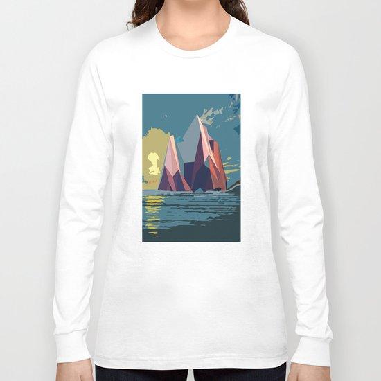 Night Mountains No. 4 Long Sleeve T-shirt