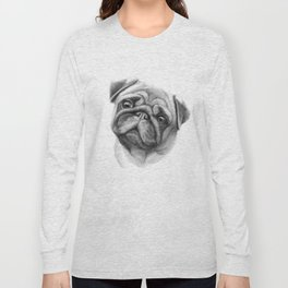 The Pug G123 Long Sleeve T-shirt