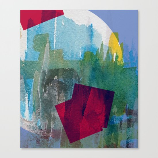 Hole in one 5 Canvas Print