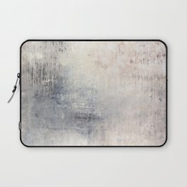 """""""1198 abstract beige/silver wall"""" Laptop Sleeve"""