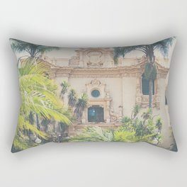 Balboa Park architecture ... Rectangular Pillow