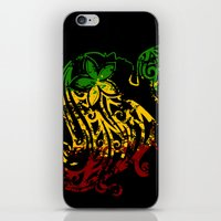 reggae iPhone & iPod Skins featuring Reggae Lady by Lonica Photography & Poly Designs